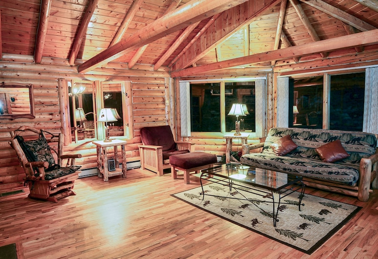 Mountain Masterpiece by Rocky Mountain Resorts, Allenspark, Cabin, 3 Bedrooms, Living Room