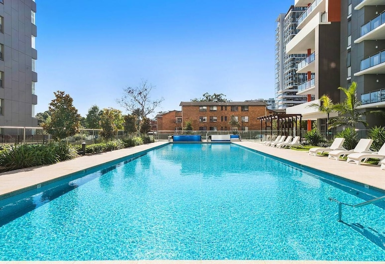 STAY&CO Serviced Apartments Macquarie Park, Mac'uarie Park, Πισίνα