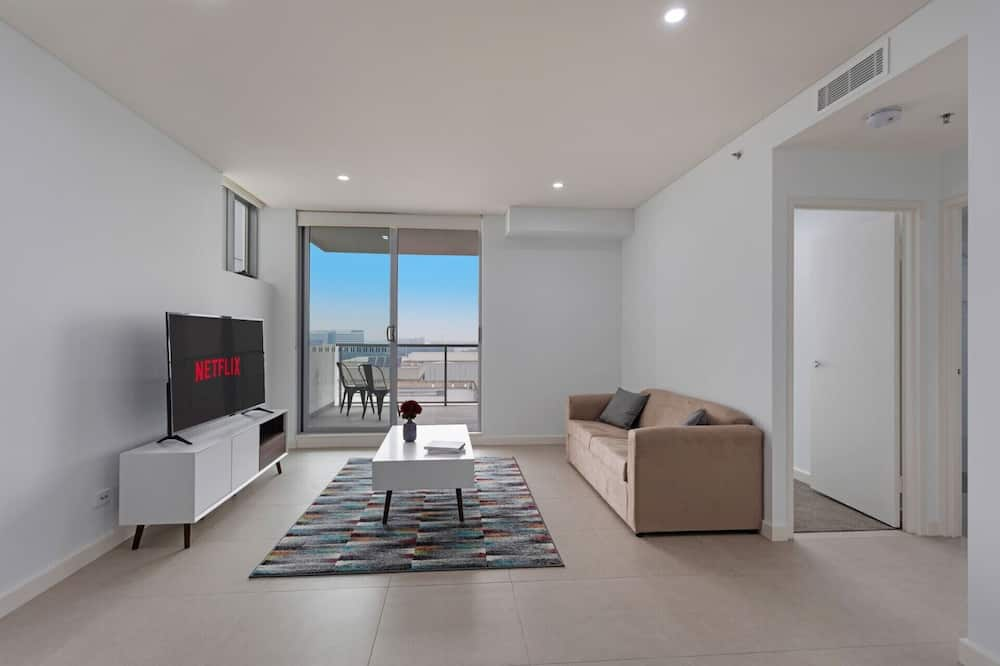 Апартаменты «Комфорт», 2 спальни - Зона гостиной