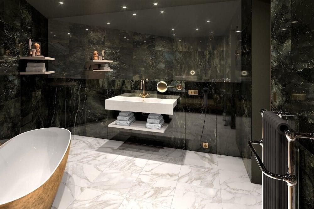 Luxury-Suite, Bergblick - Badezimmer