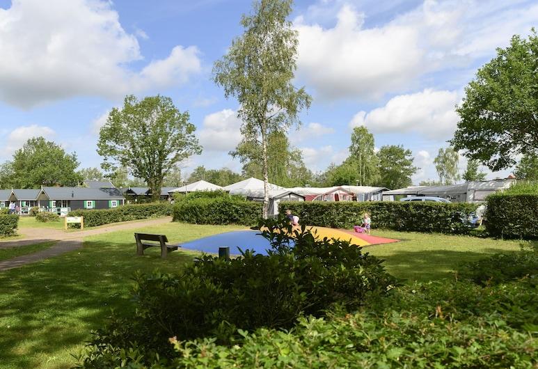 Striking Chalet With Dishwasher, Surrounded by Nature, IJhorst, A szálláshely külső területe