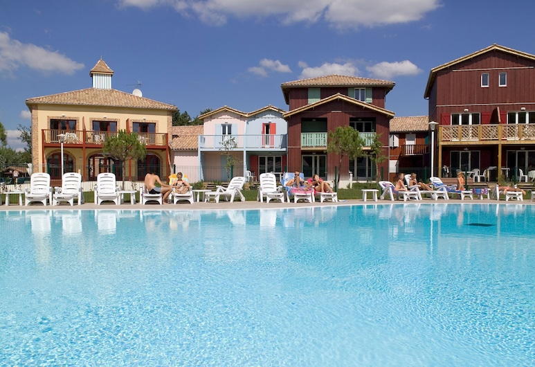 Cozy Apartment With Dishwasher, Near the Port of Le Teich, Le Teich, Uima-allas