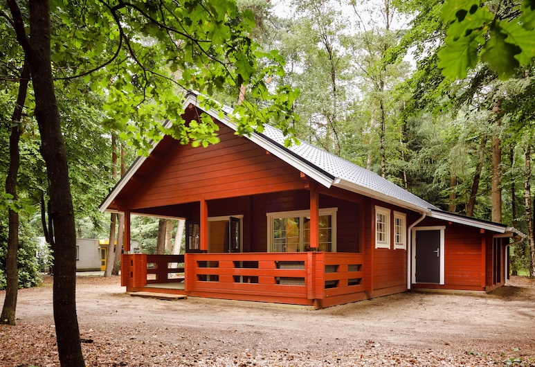 Cozy, Wooden Lodge With a Veranda, Located in the Veluwe, Epe