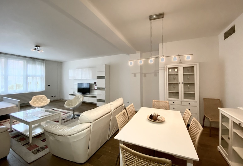 Residence Prague Life Masna, Praga, Apartamento superior, Quarto