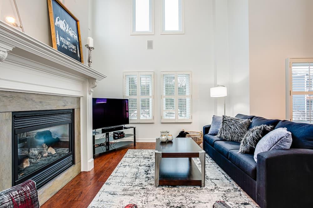 Deluxe korter, 3 magamistoaga (201 Mountain Walk) - Lõõgastumisala