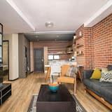 Dzīvokļnumurs ar papildu ērtībām, viena guļamistaba (I) - Dzīvojamā zona
