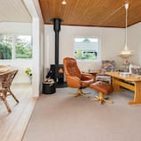 Soothing Holiday Home in Knebel With Conservatory