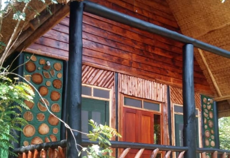 Songbird safari lodge, Kasese, Voorkant hotel