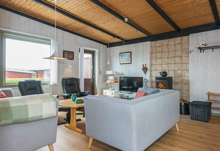 Lovely Holiday Home With Terrace in Hejis, Hejls, Living Room