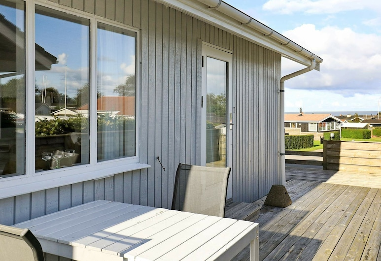 Boutique Holiday Home in Sæby With Seaview, Sæby, Balcony