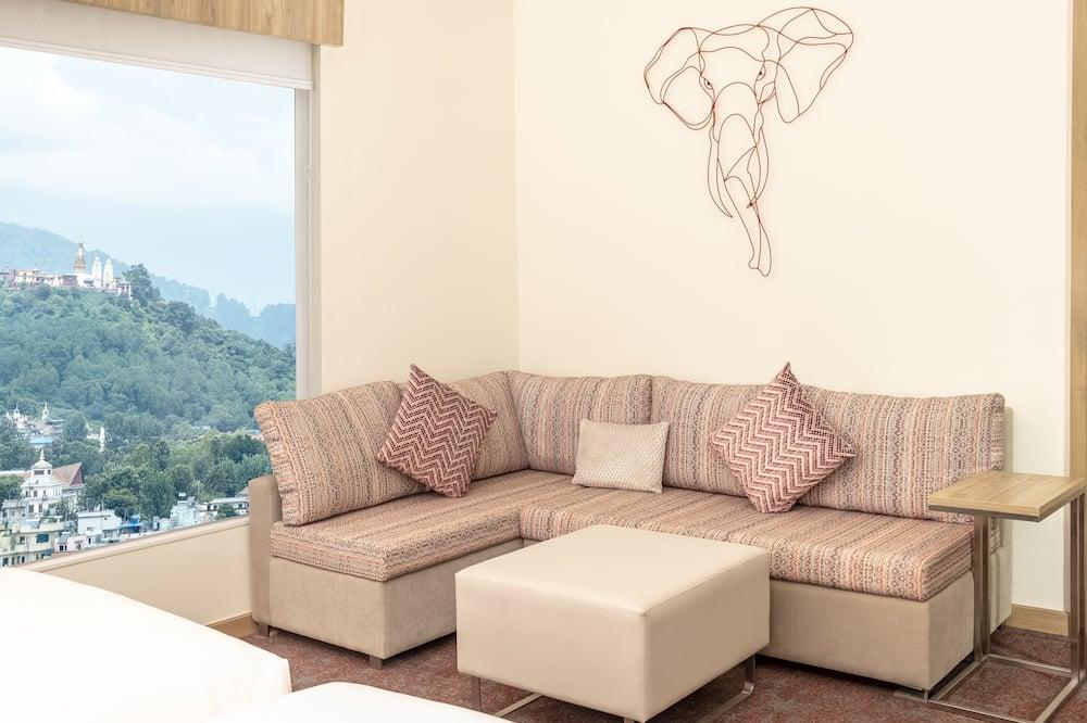 Camera, 1 letto king (High Floor) - Area soggiorno