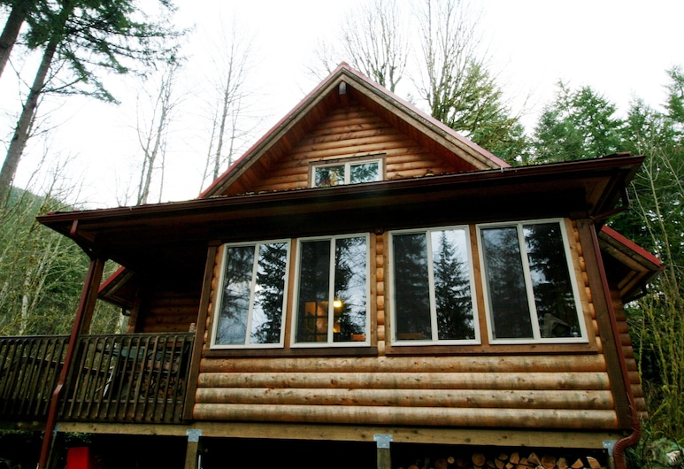 Glacier Springs Cabin 21 - This Family Home Says Cabin in the Country, グレーシャー, 外装