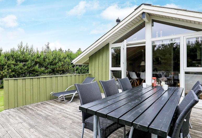 Remote Holiday Home in Jutland Near the Sea, ブローヴァン, バルコニー