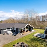 Alluring Holiday Home in Hemmet With Whirlpool