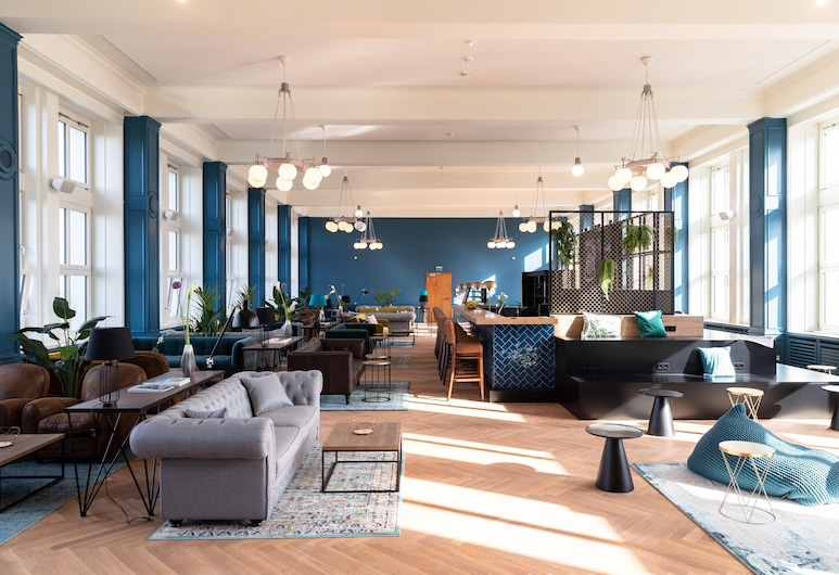 PHNX Aparthotel Hamburg , Hamburg, Hotel Lounge