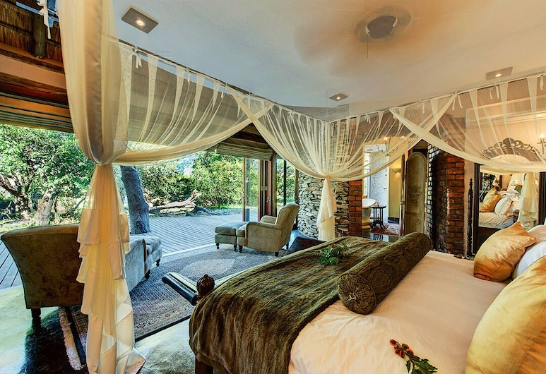 Tintswalo Manor House, 크루거 국립공원, 럭셔리 빌라, 객실
