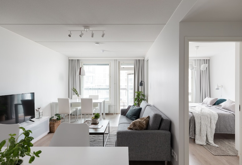 SleepWell Apartments Malaga, Helsingi, Külaliskorter, 2 magamistoaga, Lõõgastumisala