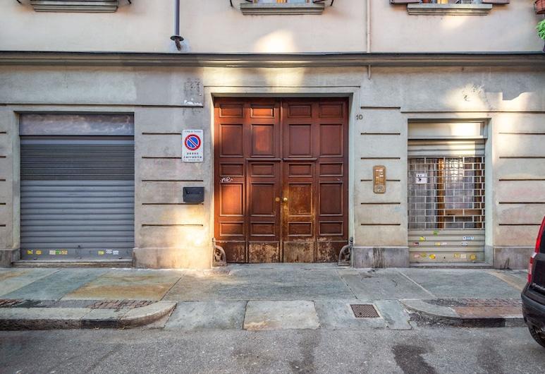 Valentino Mini Mansarda, Turin, Property entrance