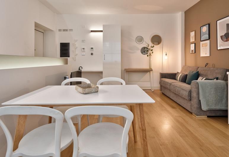 Corso Vittorio Central Duplex, Turín, Apartmán, 1 spálňa, Obývacie priestory