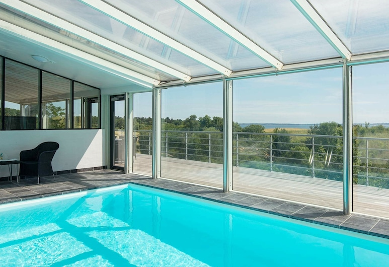 Opulent Holiday Home in Jutland With Swimming Pool, Knebel, Pool