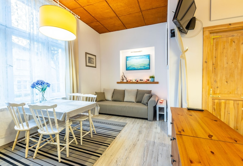 Victus Apartamenty - Fiord, Sopot, Apartmán, 1 spálňa, Obývačka