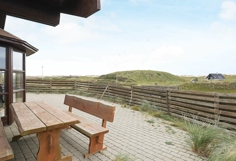Beautiful Holiday Home in Ringkøbing With Dunes, Ringkøbing, Balkon