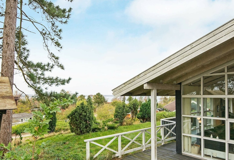 Secluded Holiday Home in Knebel With Stereo Unit, Knebel, Teren przynależny do obiektu
