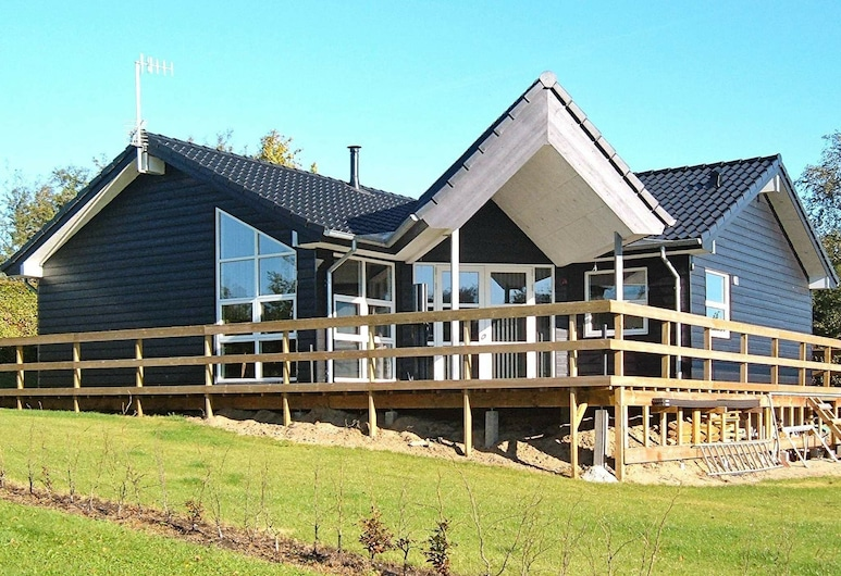 Peaceful Holiday Home in Roslev Denmark With Terrace, Roslev, Außenbereich