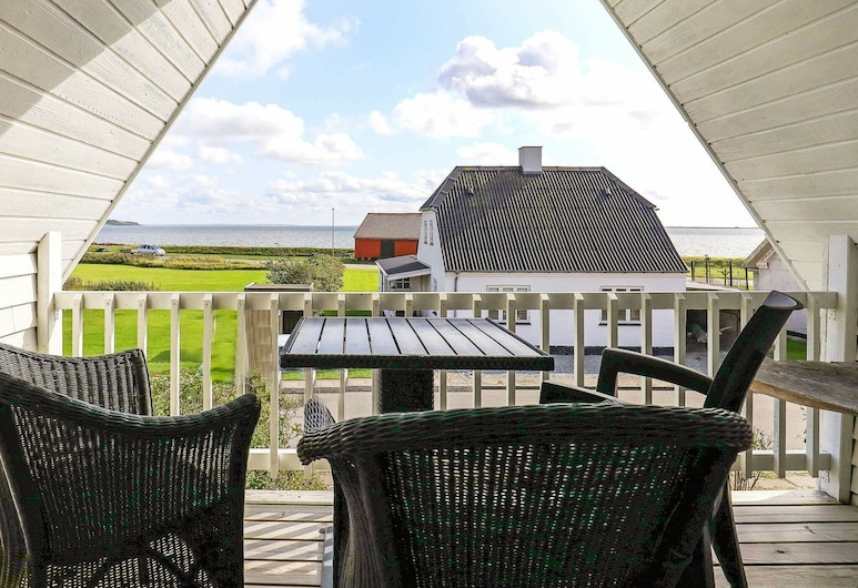 Boutique Holiday Home in Vestervig With Whirlpool, Vestervig, Balcón