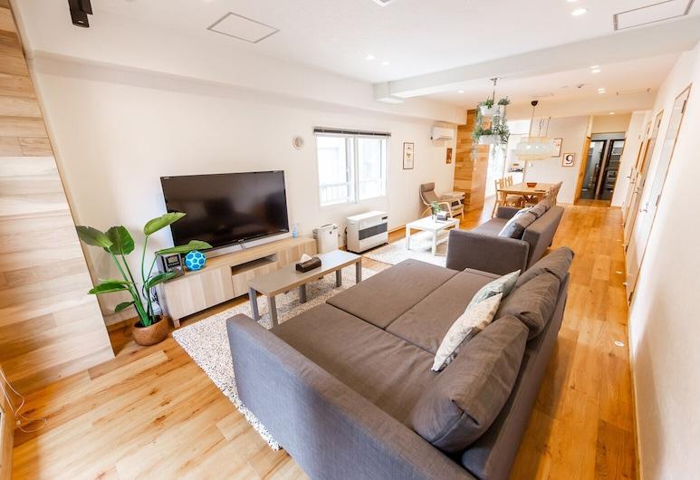 The East Avenue, سابورو, شقة - لغير المدخنين (Private One Floor), غرفة معيشة