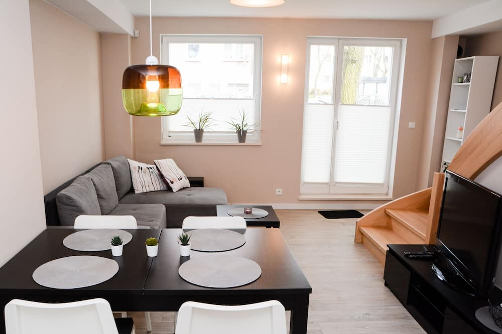 Duplex Deluxe - Powierzchnia mieszkalna
