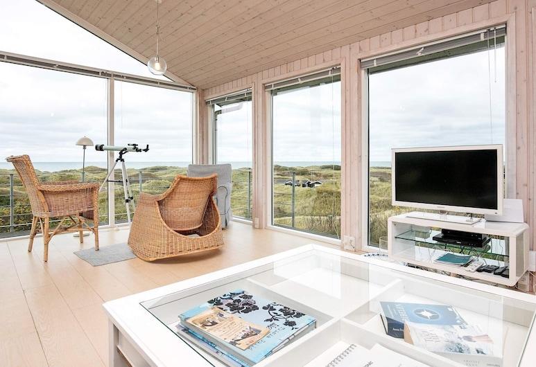 Secluded Holiday Home in Løkken With Whirlpool, Lokken, Living Room