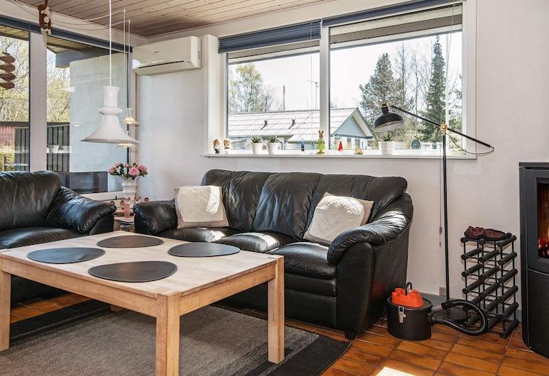 6 Person Holiday Home in Ørsted, Ørsted, Living Room
