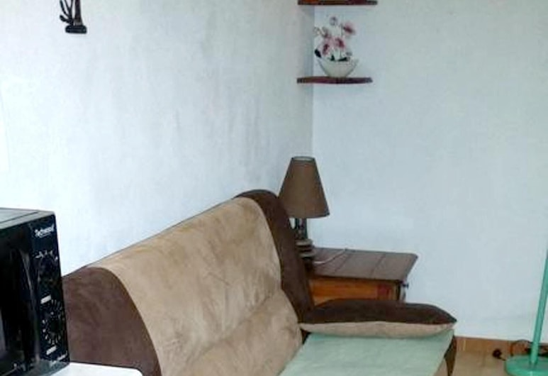 Apartment With one Bedroom in Sainte-luce, With Enclosed Garden and Wifi, 聖路思義, 客廳