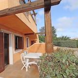 Studiolejlighed - adgang til pool - Terrasse/patio