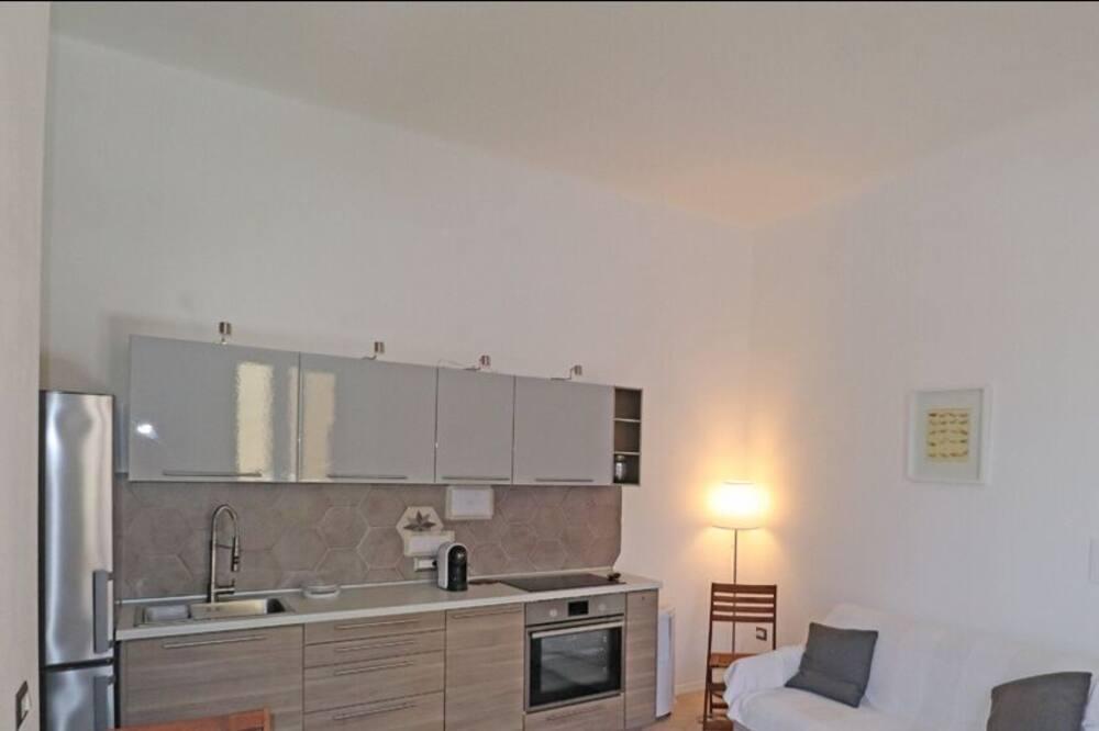 apartman, 1 hálószobával, erkély - Nappali rész