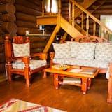 Luxusná rekreačná chata - Obývacie priestory