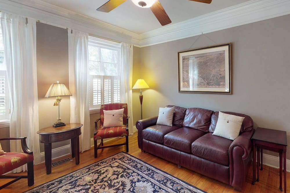 Appartement, 1 queensize bed (Southern Charm on Liberty) - Woonkamer