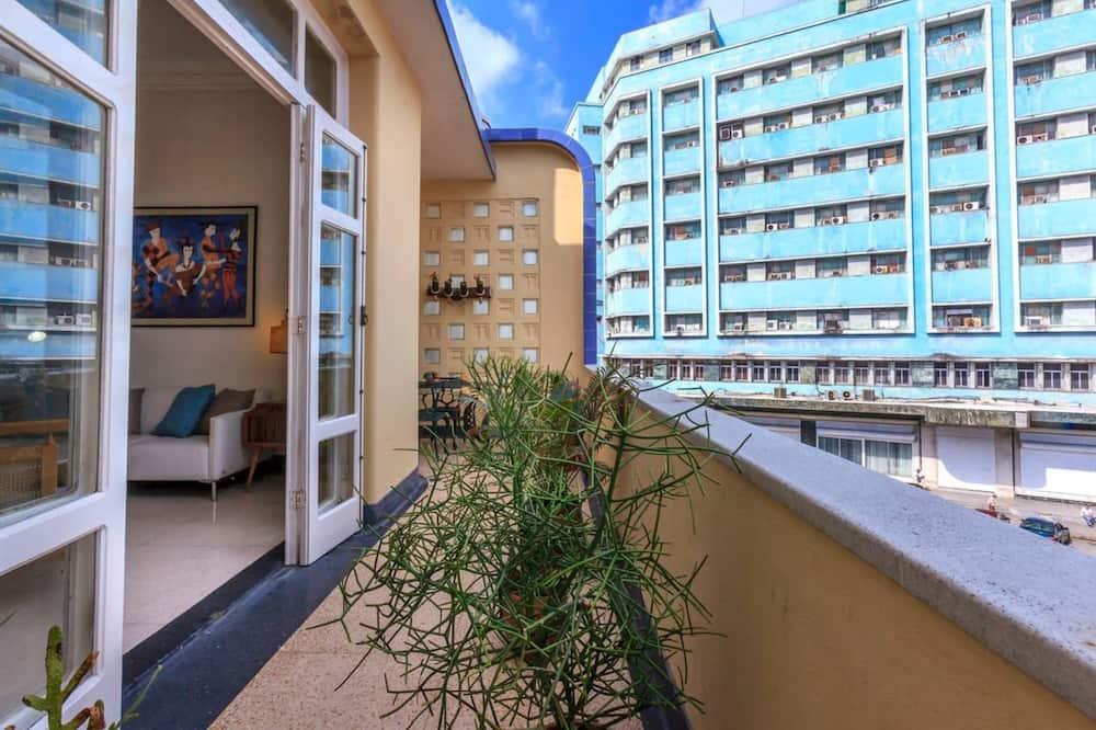 Ģimenes dzīvokļnumurs, balkons, skats uz jūru - Balkons