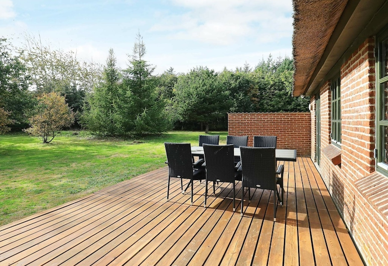 Magnificent Holiday Home in Jutland With Sauna, Ulfborg, Ban công