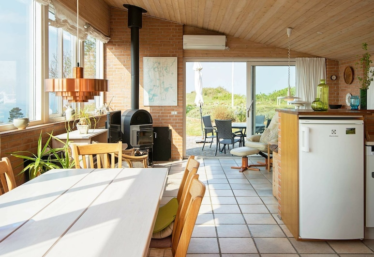 Exquisite Holiday Home in Knebel Terrace, Knebel, Private kitchen
