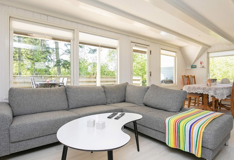 4 Person Holiday Home in Hals, Hals, Living Room
