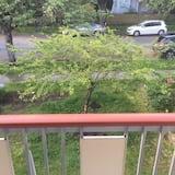 Habitación doble empresarial, con vista al jardín - Vista al balcón