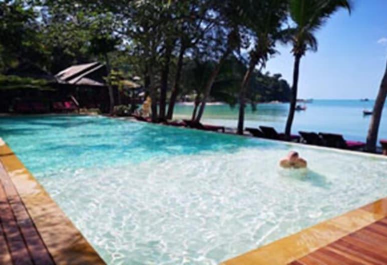 Salad Hut Resort, Ko Pha-ngan, Útilaug