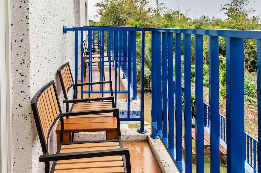 Двомісний номер, з балконом, з видом на океан - Балкон