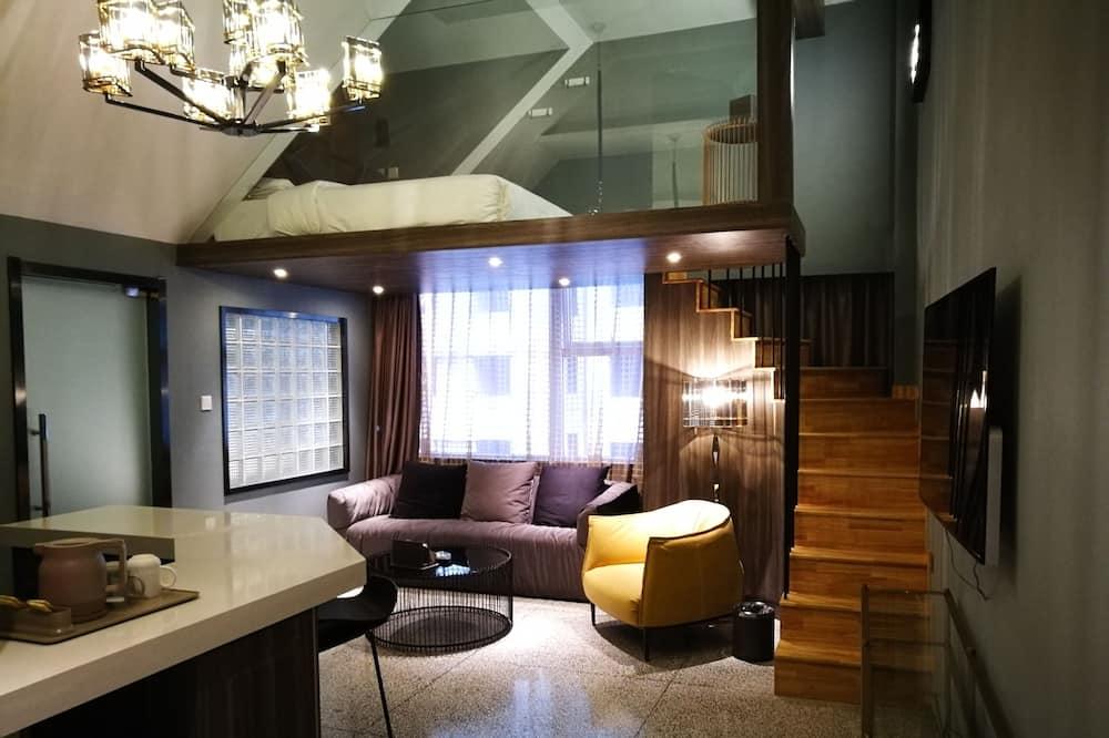 Kahden hengen huone - Olohuone