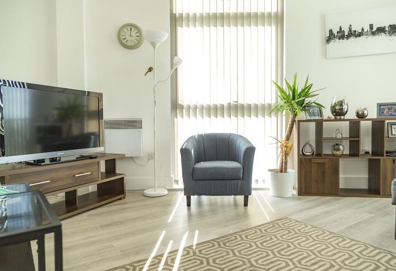 Kent Street - Apt 3, Liverpool, Apartment, 2Schlafzimmer, Wohnbereich