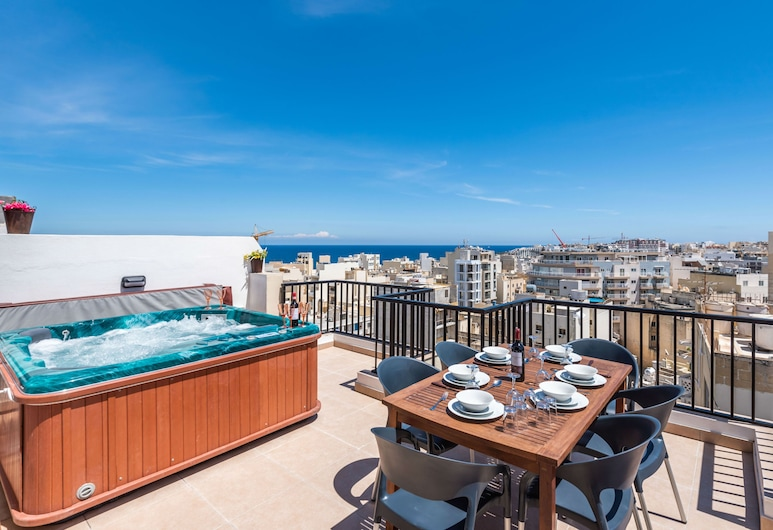 Seashells Seaview Penthouse With Hottub, セント ポール湾