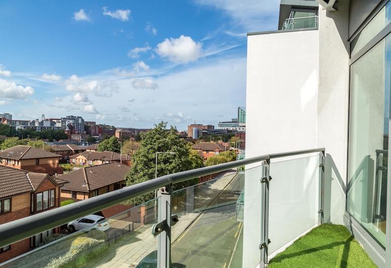 Kent Street - Apt 4, 利物浦, 公寓, 2 間臥室, 陽台