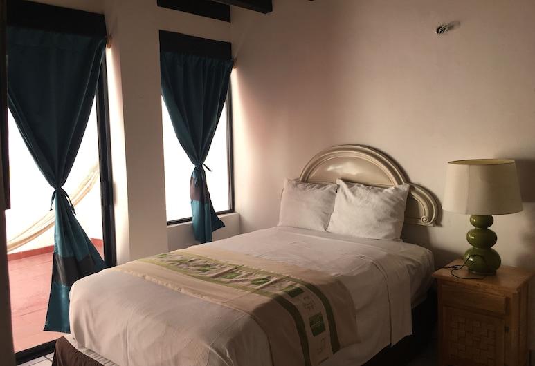 Tropicus 8 Romantic Zone Estudio Room With Terrace, بويرتو فالارتا, غرفة علوية - غرفة نوم واحدة, الغرفة